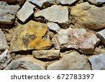 stone wall    Shutterstock . vector #672783397
