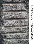 granite monument | Shutterstock . vector #672791611
