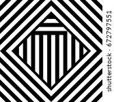 seamless tile with black white... | Shutterstock .eps vector #672797551