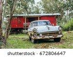 punta negra  maldonado province ... | Shutterstock . vector #672806647