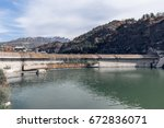 gubei water town in beijing... | Shutterstock . vector #672836071