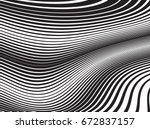 abstract vector background.... | Shutterstock .eps vector #672837157