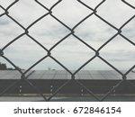 do not solar power plant ... | Shutterstock . vector #672846154