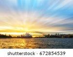 sydney  australia   june 23 ... | Shutterstock . vector #672854539