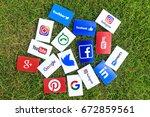 bangkok  thailand   june 15 ... | Shutterstock . vector #672859561