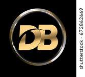 Db Initial Letter Logo Inside...