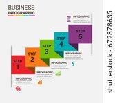 bundle infographic elements   Shutterstock .eps vector #672878635