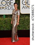 Small photo of LOS ANGELES, CA - JANUARY 8, 2017: Ruth Negga at the 74th Golden Globe Awards at The Beverly Hilton Hotel, Los Angeles
