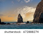 Rocks At The Channel Islands A...