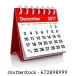 December 2017 Calendar....
