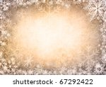 gold christmas background | Shutterstock . vector #67292422