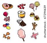 cartoon candy  icon | Shutterstock .eps vector #67294639