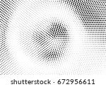 abstract halftone dotted... | Shutterstock .eps vector #672956611