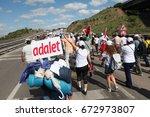 istanbul  turkey   july 07  ... | Shutterstock . vector #672973807