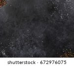 dark mica background. stone... | Shutterstock . vector #672976075