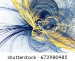 abstract bright motion... | Shutterstock . vector #672980485