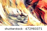 solar energy. abstract  bright... | Shutterstock . vector #672983371