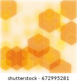 vector banner with a background ... | Shutterstock .eps vector #672995281