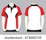 polo shirt design   Shutterstock .eps vector #673000735