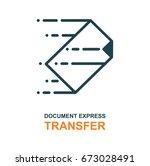 express transfer logo. file... | Shutterstock .eps vector #673028491
