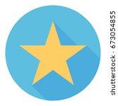 star icon. | Shutterstock .eps vector #673054855