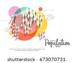illustration poster or banner... | Shutterstock .eps vector #673070731