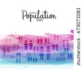 illustration poster or banner... | Shutterstock .eps vector #673072081