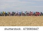 vendeuvre sur barse  france  ...   Shutterstock . vector #673083667