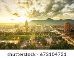santiago  region metropolitana  ...   Shutterstock . vector #673104721