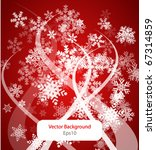 abstract winter background | Shutterstock .eps vector #67314859