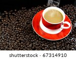 coffee cup | Shutterstock . vector #67314910
