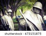 Korean War Memorial In...