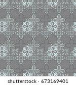 modern seamless wallpaper and... | Shutterstock . vector #673169401