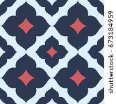 seamless floral patterns tile.   Shutterstock .eps vector #673184959