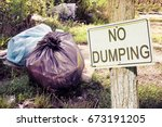 Illegal Dumping In The Nature...