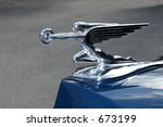 Graceful Vintage Car Hood...