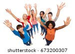 diversity  race  ethnicity and... | Shutterstock . vector #673200307