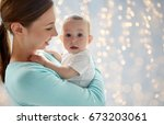 family  motherhood and... | Shutterstock . vector #673203061