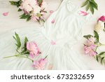 glamor elegant evening party... | Shutterstock . vector #673232659