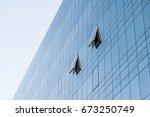 office window  building window  ... | Shutterstock . vector #673250749