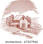 woodcut style illustration of... | Shutterstock .eps vector #67327966
