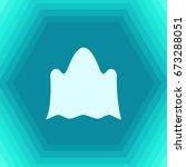 vector flat halloween icon.... | Shutterstock .eps vector #673288051