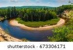 arrowhead provincial park ... | Shutterstock . vector #673306171