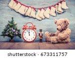 New Year Tree  Teddy Bear Toy ...