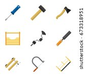 set of 9 editable instrument...
