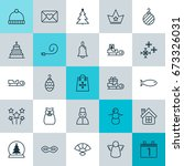 new icons set. collection of... | Shutterstock .eps vector #673326031