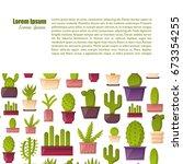 vector illustration with... | Shutterstock .eps vector #673354255
