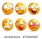smileys vector set smiley face