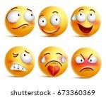 Smileys Vector Set. Smiley Fac...