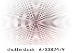 light red vector pattern with... | Shutterstock .eps vector #673382479
